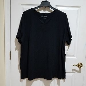 Supreme Black V neck NWT